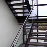 Stainless Steel & Glass Panel