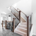 Wood & Steel Spindle --- (Photo courtesy: Pacesetter Homes)